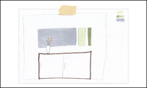 Abbildung zeigt Beispiel für Skizzenbuch