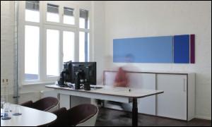 Abbildung zeigt umgesetzten Entwurf des Büros der Führungskraft