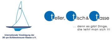 Abbildung zeigt Logobeispiel teller, tisch & tasse
